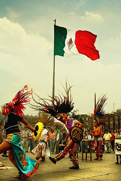 File:Indigenous dancers in Mexico City.jpg