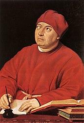 Raphael: Portrait of Tommaso Inghirami