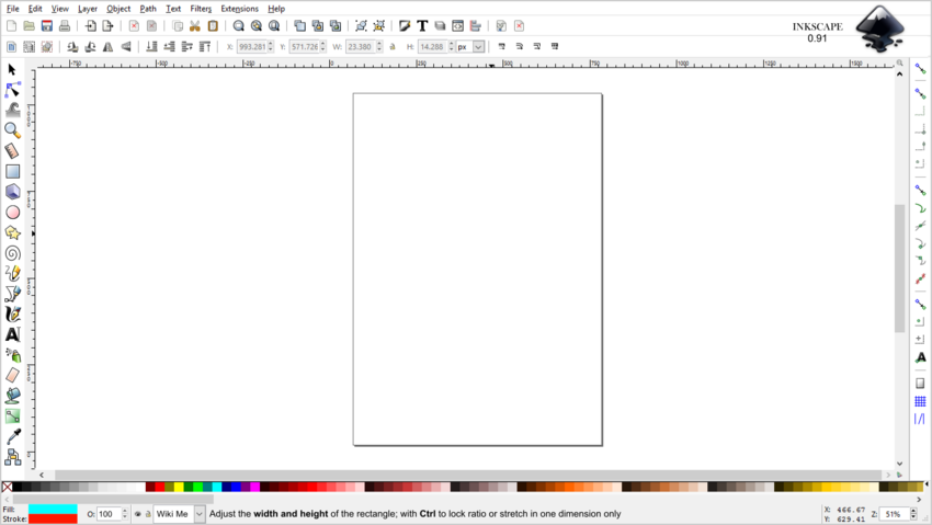 Inkscape(main window)