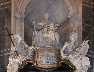 Livio Odescalchi - Tomb of Pope Innocent XI, designed by Carlo Maratta, sculpted by Pierre-Étienne Monnot.