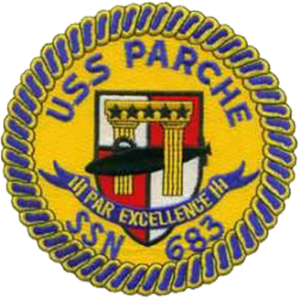 USS Parche (SSN-683) - Image: Insignia of SSN 683 Parche