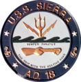 Insignia of USS Sierra (AD-18) c1970.png