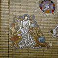 Interieur, geschilderde kruiswegstatie nr. 10 Jezus wordt van zijn kleren beroofd - Hilversum - 20345672 - RCE.jpg