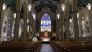 St. Michael's Cathedral Basilica (Toronto) - St Michael's Toronto, interior