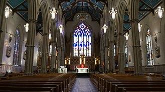 St. Michael's Cathedral Basilica (Toronto) - St Michael's Toronto, interior