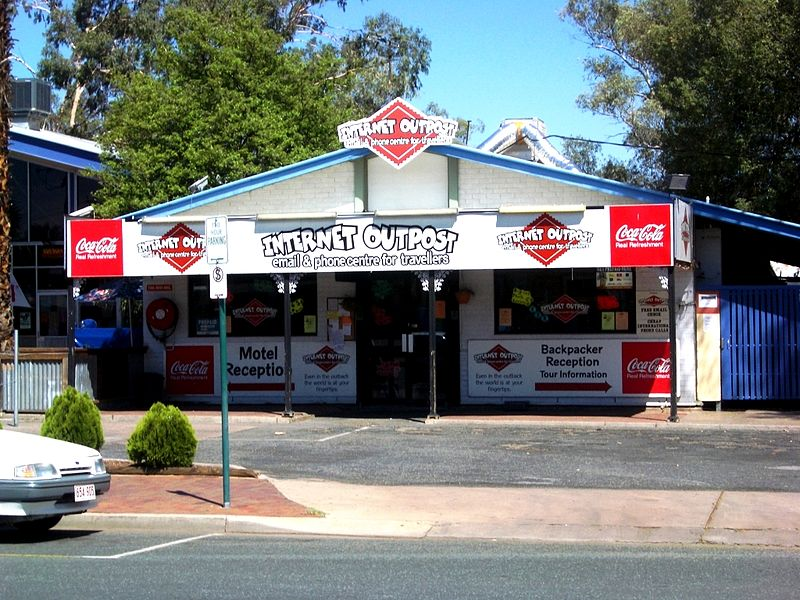Internet Cafe Alice Springs