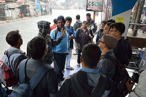 Introductory Discussion - Wikimedia Photowalk - Tollygunge - Kolkata 2014-12-14 1370