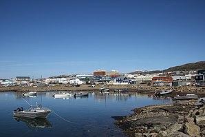 Hafengebiet von Iqaluit