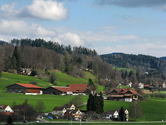 Irgenhausen - Image: Irgenhausen Irgenhausen castrum IMG 5379