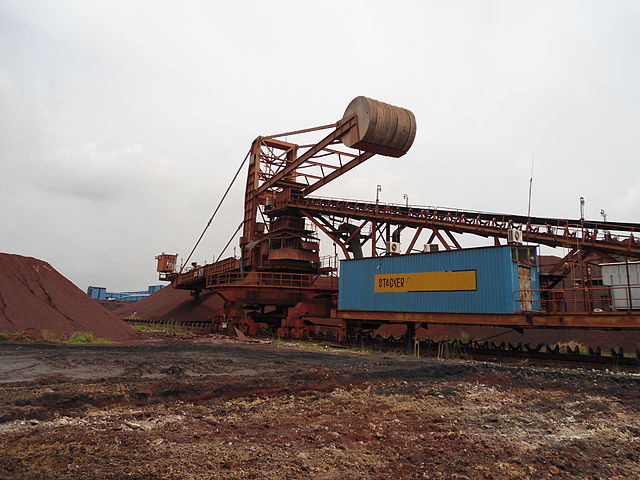 Ťažba železnej rudy