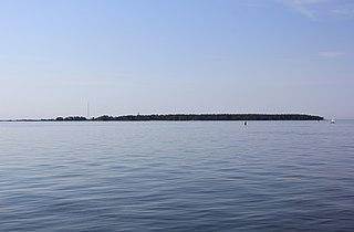 Isosaari island in Helsinki, Finland