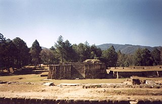 Iximche human settlement