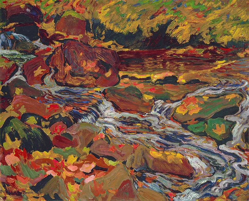 J. E. H. MacDonald, The Wild River 1919
