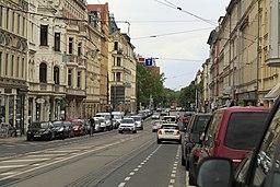 Wolfgang-Heinze-Straße in Leipzig
