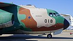 JASDF C-1(68-1018) forward fuselage section right side view at Komaki Air Base February 23, 2014.jpg