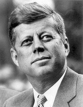 John Fitzgerald Kennedy, le 20 février 1961