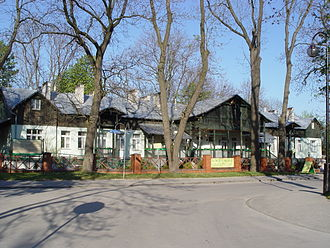 Busko-Zdrój - Spa buildings