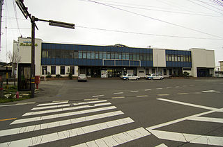 Tatsuno Station (Nagano) railway station in Tatsuno, Kamiina district, Nagano prefecture, Japan