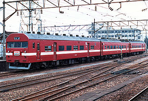 419 series - 419 series in original JNR livery in the late 1980s