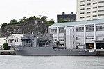 JS Enshū(AMS-4305) left rear view at JMSDF Yokosuka Naval Base April 30, 2018.jpg