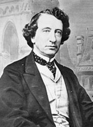History of the Supreme Court of Canada - Sir John A. Macdonald, first Prime Minister of Canada and an early supporter of the Supreme Court of Canada, c. 1867