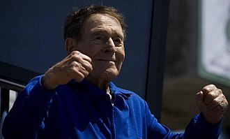 Jack LaLanne - LaLanne receiving a Lifetime Achievement Award in 2007 at Muscle Beach in Venice Beach, California