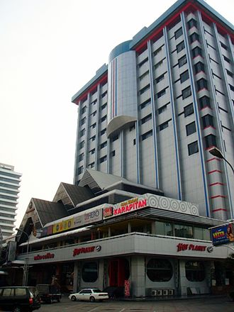 Menteng - Sarinah Department Store, one of the earliest modern department store in Jakarta.