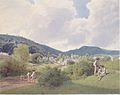 Jakob Alt - Das Bartfelder Bad im Saroser Comitat in Ungarn - 1840.jpeg