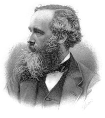 James Clerk Maxwell, vía Wikimedia Commons