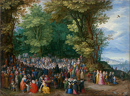 Jan Brueghel the Elder - The Sermon on the Mount - Google Art Project