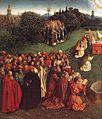 Jan van Eyck - The Ghent Altarpiece - Adoration of the Lamb (detail) - WGA07655.jpg