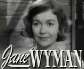 Johnny Belinda (1948 film) - Image: Jane Wyman in Johnny Belinda trailer