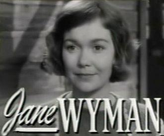 Johnny Belinda (1948 film) - Image: Jane Wyman in Johnny Belinda trailer
