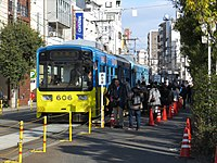 Japanese New Year of Sumiyoshi Station Osaka (03) IMG 8741 R 20150103.JPG