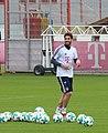 Javi Martinez Training 2018-01-28 FC Bayern Muenchen-3.jpg