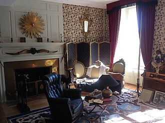 Jean Cocteau House - Image: Jean Cocteau House Grand Salon