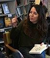 Jeannie Vanasco Signs Books in Baltimore 2021 (cropped).jpg