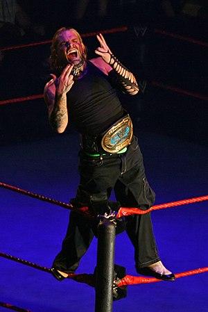 Cyber Sunday (2006) - Jeff Hardy as the Intercontinental Champion.