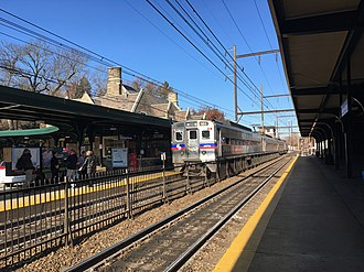 Lansdale/Doylestown Line - Jenkintown-Wyncote station, a major stop on the Lansdale/Doylestown line