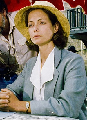 Jenny Seagrove - Jenny Seagrove on set of Appointment with Death (1988)