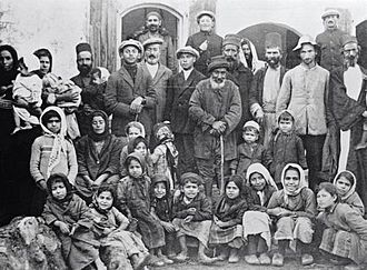 Peki'in - Jews of Peki'in, c. 1930