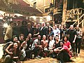 Jill and Joe Biden with the cast of Hamilton in 2015.jpg