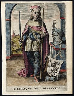 Duke of Brabant (from 1183) and Duke of Lower Lotharingia (from 1190)