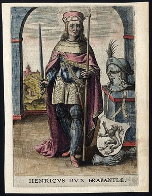 Henry I, Duke of Brabant - 17th century depiction