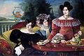Jožef Tominc - Tri dame iz družine Moscon.jpg