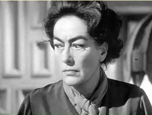 Cropped screenshot of Joan Crawford from the f...