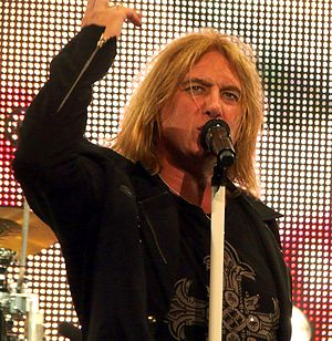 Def Leppard - Lead singer Joe Elliott