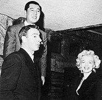 Joe DiMaggio, Marilyn Monroe and Tstsuzo Inumaru