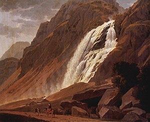 Johann Jakob Biedermann - Johann Jakob Biedermann, The Pissevache Falls, Kunstmuseum Winterthur, 1815