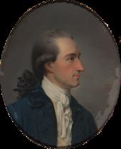 Johann Wolfgang Goethe, Ölgemälde von Georg Oswald May, 1779 (Quelle: Wikimedia)